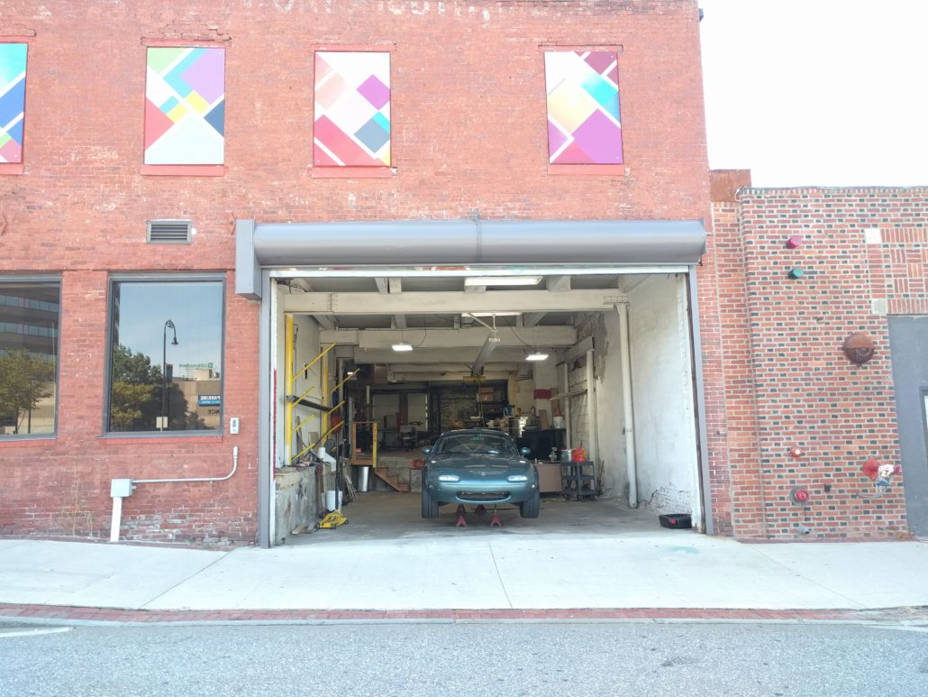Automotive shop at Manchester Makerspace